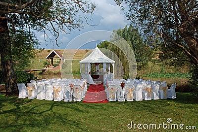 Romantic Wedding Day Venue