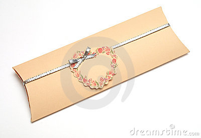 Romantic Wedding Invitation Envelop