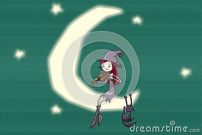 Romantic witch