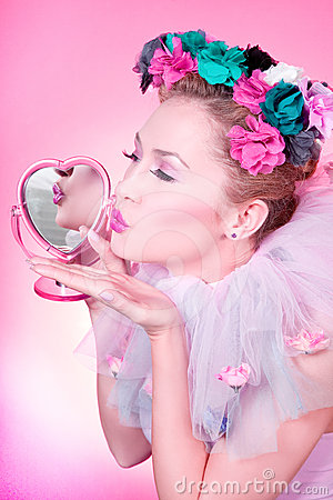 Romantische kus