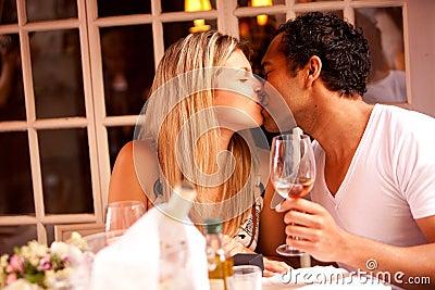 Romantische Mahlzeit