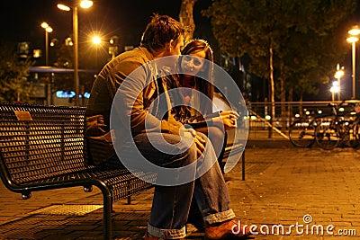Romantische Sitzung