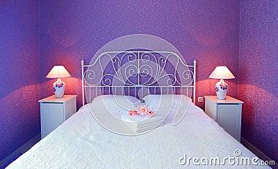 Romantische slaapkamer stock foto 39 s afbeelding 18183473 - Decoratie romantische slaapkamer ...
