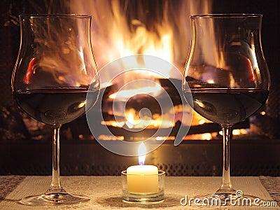 Romantisches Abendessen für zwei