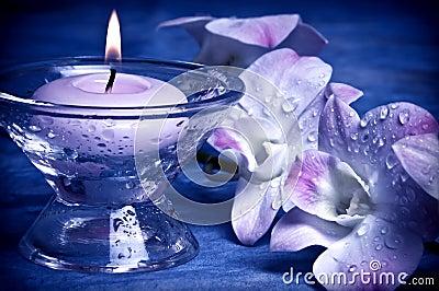 Romantyczny stylowy wellness
