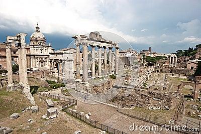 Romanum φόρουμ
