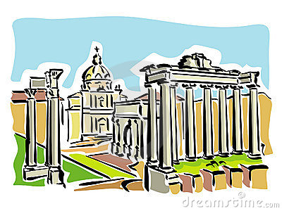 Rome (ancient Roman Forum)