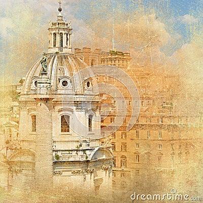 Rome, architecture