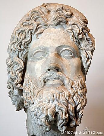 ROME - Asklepios bust