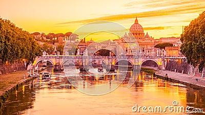 Rome au crépuscule