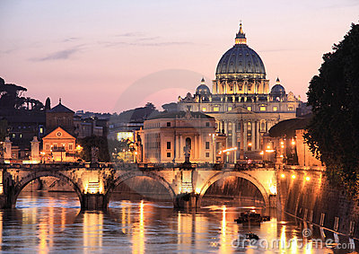 Rome bij Nacht