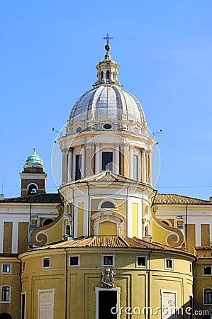 Rome church Santa Maria del Popolo