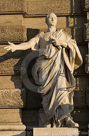 Rome - Cicero - facade of palace of justice