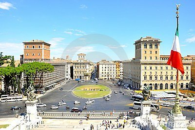 Rome city , Italy Editorial Photo
