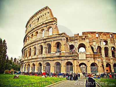 Rome Colloseum Editorial Photo