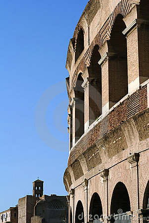Rome Colosseum by Day