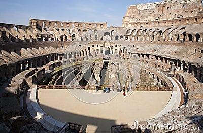 Rome - colosseum interior