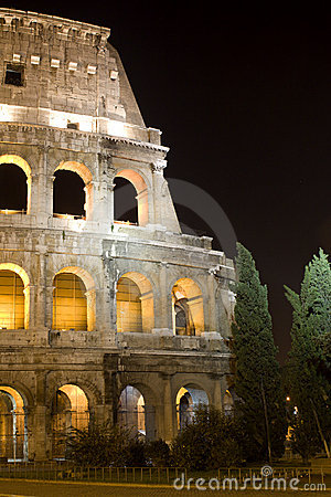 Rome - Colosseum - night