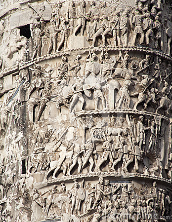 Rome - detail from Column of Marcus Aurelius