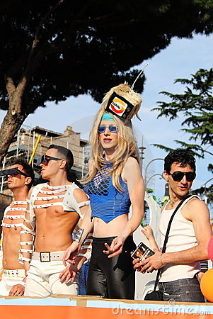 Rome Euro Pride Parade 2011 Editorial Photography