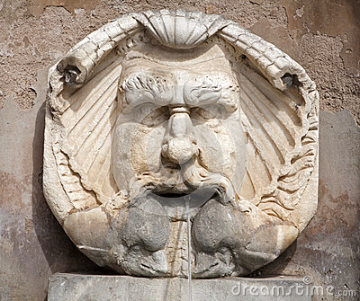 Rome - fountain by Santa Sabina