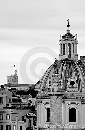 Free Rome In Black And White Stock Photo - 944040