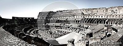 Rome Inside Colosseum