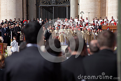 The Pope Francis Inauguration Mass Editorial Photo