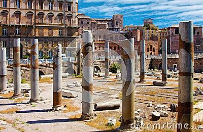 Rome, Italy. The Roman Forum