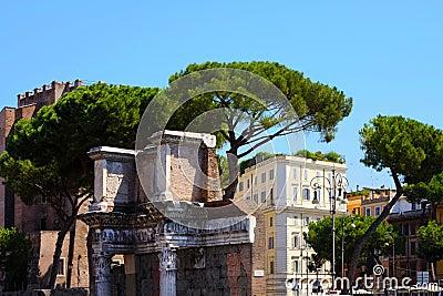 Rome, Italy. Roman Forum