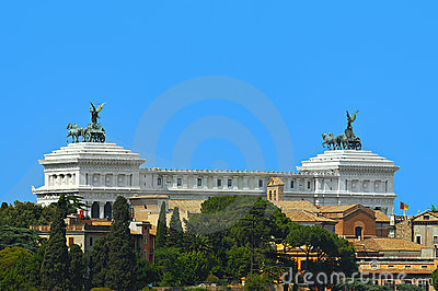 Rome, Italy - The Vittoriano