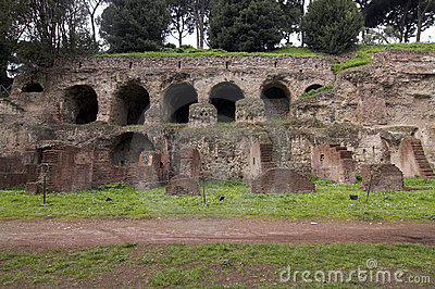Rome - Palatine Hill - entry