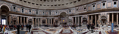 Rome, pantheon Editorial Stock Photo
