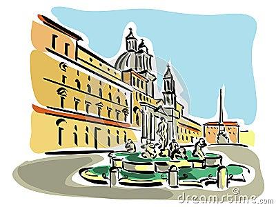 Rome (Piazza Navona)
