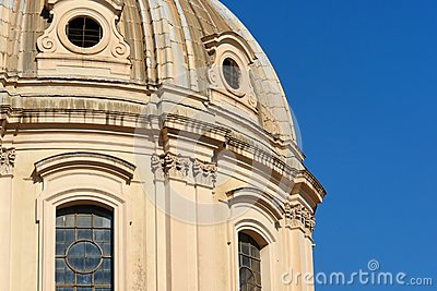 Rome Piazza Venezia Church Detail