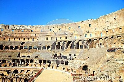 Rome s Colosseum Editorial Stock Photo