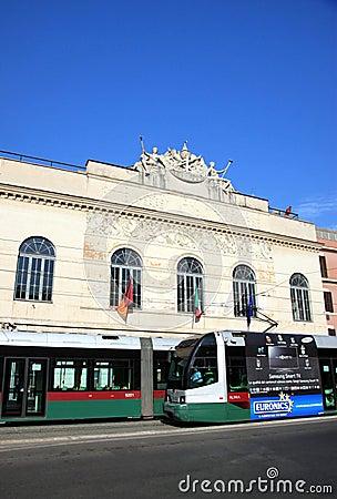 Rome s Teatro Argentina Editorial Stock Image