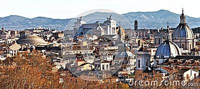 Rome skylline