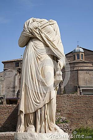 Rome - statue from Atrium Vestae