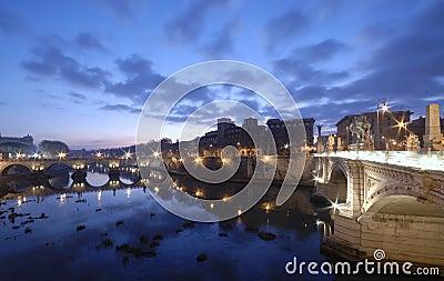 Rome before sunrise
