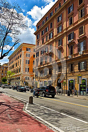 Rome urban scene Editorial Photography