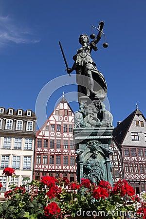 Romer in Frankfurt Editorial Stock Photo
