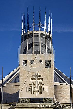 Romersk-katolsk domkyrka - Liverpool - England