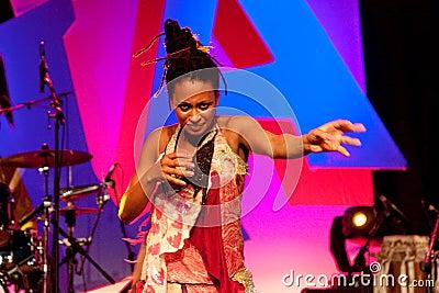 Romi Anauel, Terrakota, Hanover, 17 May 2009 Editorial Photography