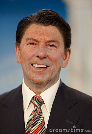 Ronald Reagan Editorial Stock Photo