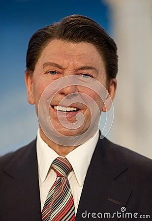 Ronald Reagan Editorial Stock Photo