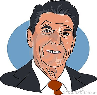 Ronald Reagan Editorial Stock Image