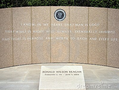 Ronald Reagan And Berlin Wall >> Ronald Reagan Memorial Royalty Free Stock Photos - Image: 2579188