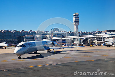 Ronald Reagan National Airport Editorial Stock Photo