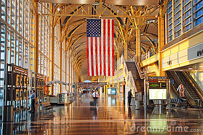 Ronald Reagan Washington National Airport Editorial Photo